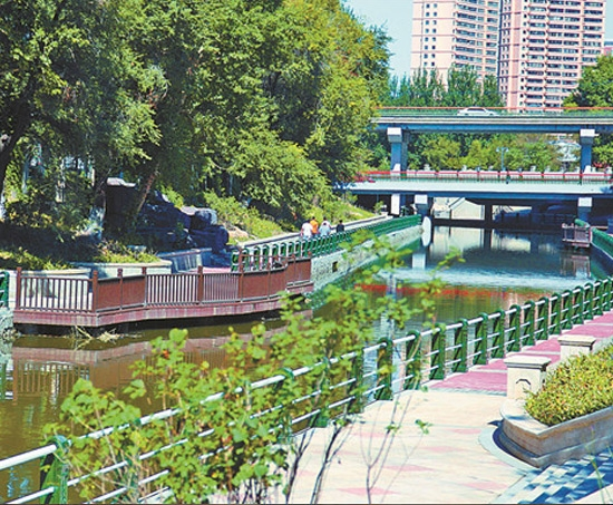 哈尔滨城市内河改造工程